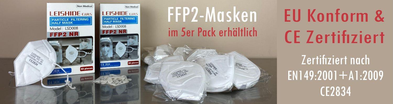 FFP2 Masken Banner